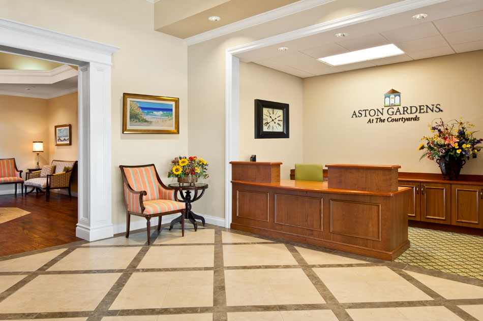 Continuing Care Retirement Community Located In Sun City, Florida; 9000  Square Foot Clubhouse Renovation Including  Lobby, Administrative Offices,  ...