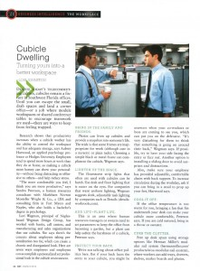 Gulfshore Business article page 1