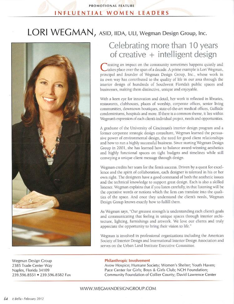 eBella February 2012 article